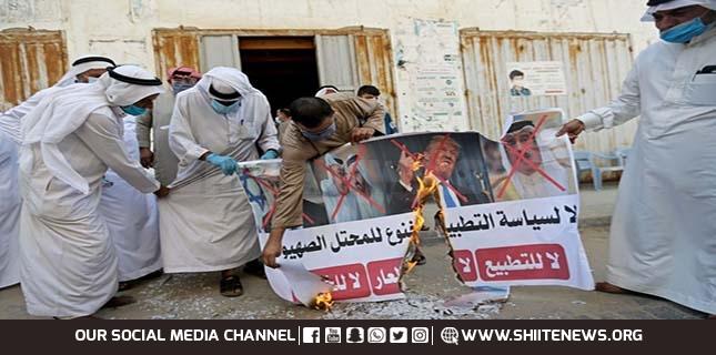 Bahrain and UAE betray Muslim majority and Pakistan to hug Israel