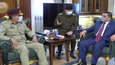 Pakistan top military general meets top Iraqi defence officials