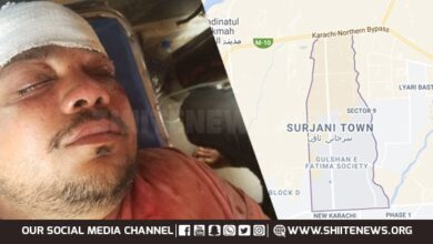 Al Haider Scout Jafar Zaidi injured in terrorist attack