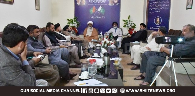MWM Shura Aali meeting satisfied with the working as per its constitution
