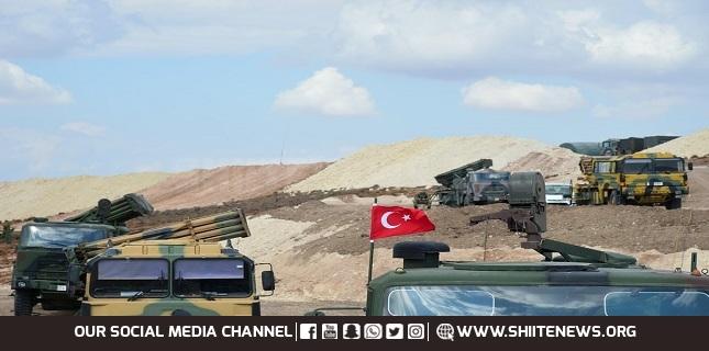 Turkish military convoy enters Syria's Idlib