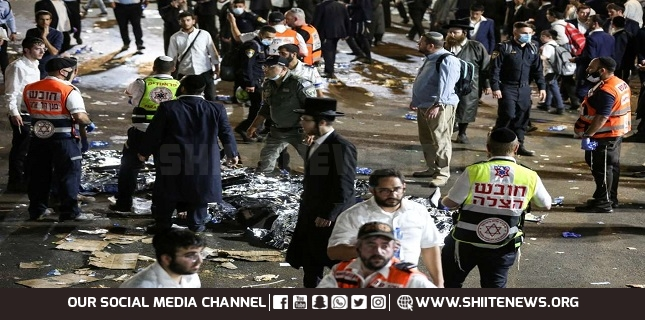 Dozens of Israelis dead, scores injured in stampede during Jewish bonfire festival