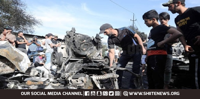 Baghdad: Several civilian killed, 21 others injured in car bomb explosion