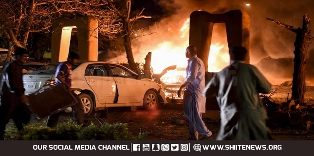 Blast at Serena Hotel in Quetta, 4 killed and dozen injured