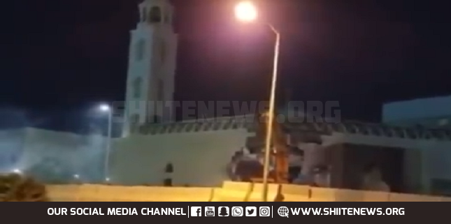 Destruction of another Shia Mosque by Saudi forces in Qatif