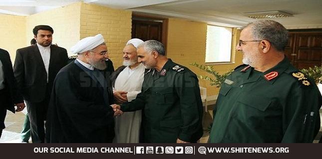 Gen. Soleimani Gov's advisor in regional, diplomatic affairs: Rouhani