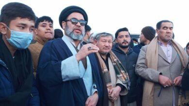 Allama Hashim Moosavi meets families of Shia missing persons