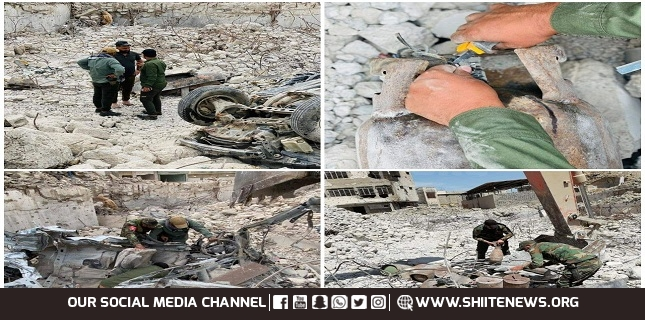ISIS suicide workshop discovered in Mosul by PMD