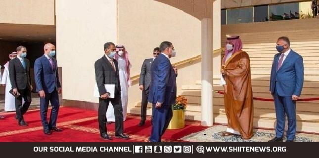 Iraqi PM arrives in Riyadh