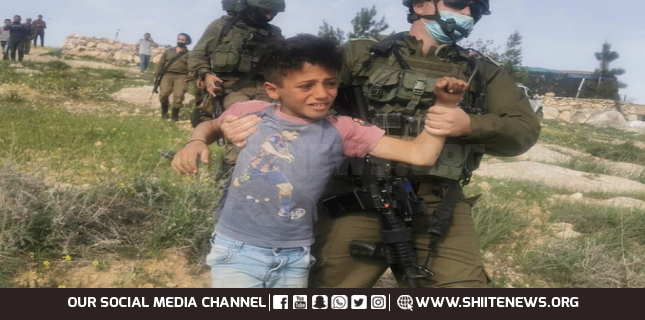 Israeli forces detained 230 Palestinian minors since January: Rights group