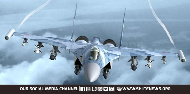 Russian jets hit terror base near Syria's Palmyra, kill 200 terrorists