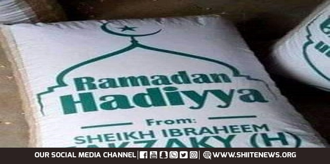Sheikh Zakzaky Ramadan foodstuffs distribution kick off today in Zaria