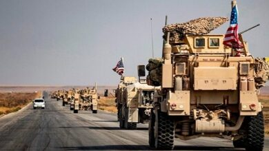US convoy targeted in Iraq's Al-Anbar province