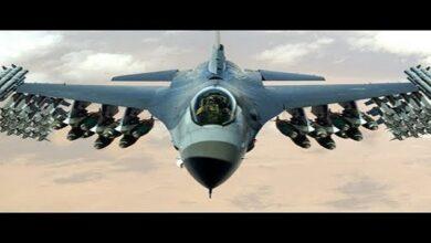 F-16 fighter jets