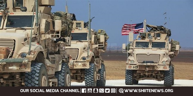 US forces smuggle wheat crops from northeast Syria to Iraq again: Report