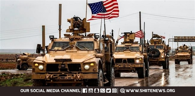 US military brings weapons, equipment to bases in Syria's Hasakah