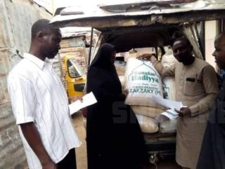 Sheikh Ibrahim Zakzaky as usual every Ramadan distributes foodstuffs to the poor and needy in Zaria.