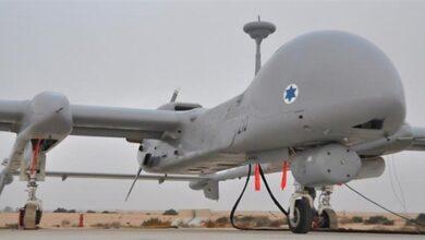 Zionist regime's spy drone