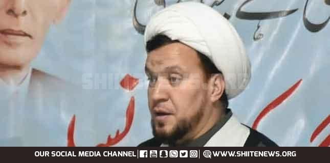 Allama Ejaz Behishti warns against crime of enforced disappearance