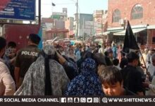 Sit in protest against enforced disappearance in Multan on Friday