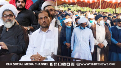 Allama Raja Nasir offers condolences over loss of Riaz Shah Ratto Waal