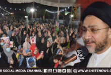 Allama Shahenshah Naqvi meets families of Shia Missing Persons