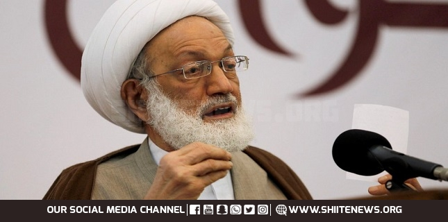 New constitution sole way out of crisis in protest-hit Bahrain: Sheikh Qassim