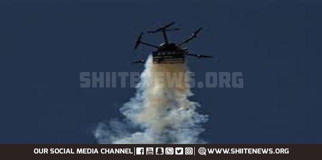 Palestinian resistance shot down Israeli drone in Gaza