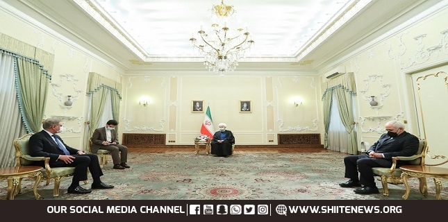 Rouhani welcomes cooperation with Pakistan on helping Afghan peace process