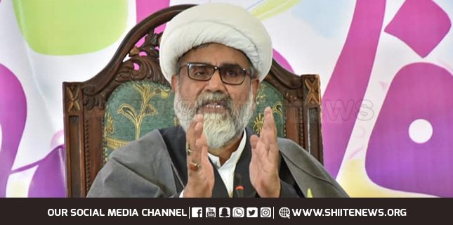 The meritorious life of Hazrat Khadija S.A is a way of guidance for all womens: Allama Raja Nasir Abbas