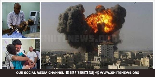 209 Palestinians martyr as Israel escalates aggression on Gaza