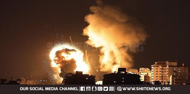52 Israeli jets bomb Gaza overnight; Palestinian resistance fires 50 rockets