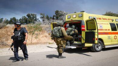 Israeli military bus