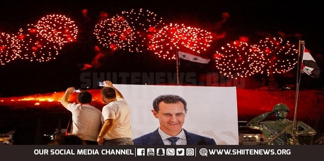 Bashar al-Assad overwhelmingly wins Syria's presidential election