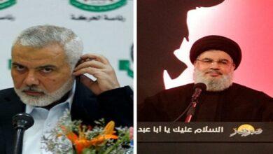 Hamas Coordination with Hezbollah