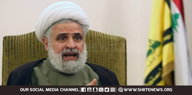 New equation in Palestine on horizon Sheikh Naeem Qasim
