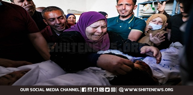 Palestinian family, including 6 children, killed in Israeli airstrike