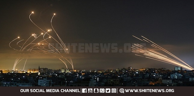 Resistance power on full display: Israeli general admits to 'highest ever rate' of rocket attacks