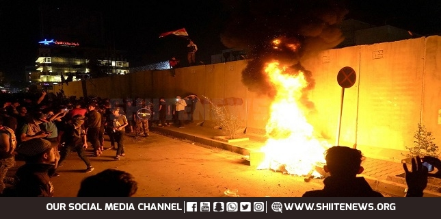Rioters attack Iranian consulate in Karbala