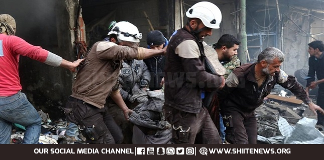 Russia says terrorists, White Helmets plotting chemical attack in Idlib to blame Damascus