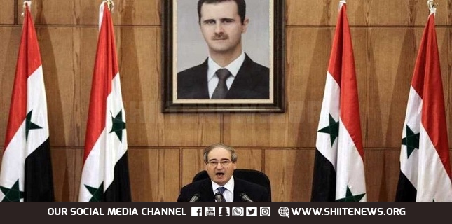 Syria: US plunders our resources, backs terrorists against us