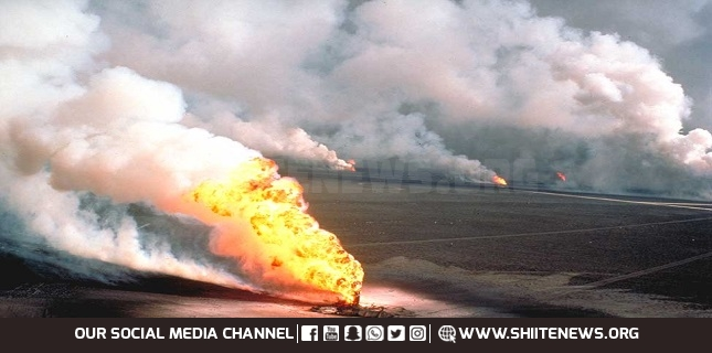 Two workers injured in fire at Kuwait's largest oil field