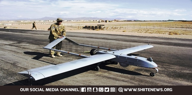 US Army RQ7 drone crashed in north Iraq