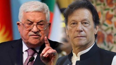 Imran Khan made telephonic contact with Palestinian president
