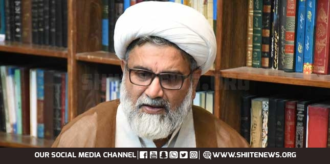 MWM chief Allama Raja Nasir Abbas appeals to entire nation to celebrate Palestine Solidarity Day on May 21