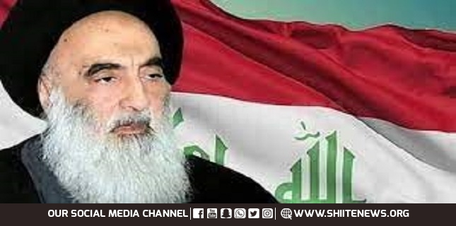 Ayatollah Sistani calls on world nations to support Palestinians