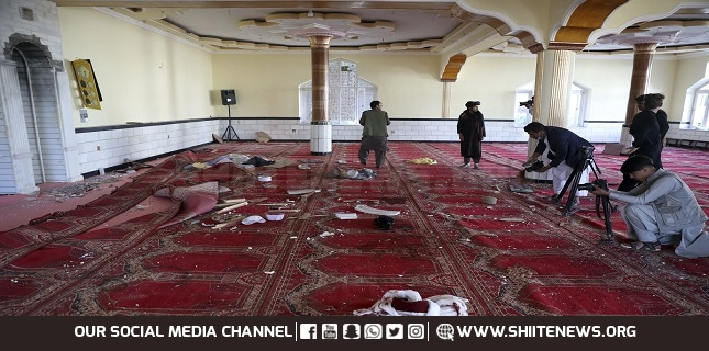 Explosion in mosque kills 12 near Afghan capital