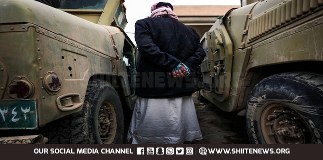 Iraqi forces detain 2 ISIL leaders in North Iraq