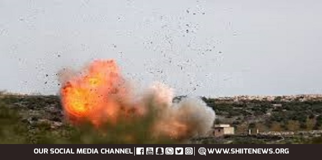 Zionist regime attacks target on Lebanese-Syrian border
