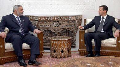 Assad Hamas relations